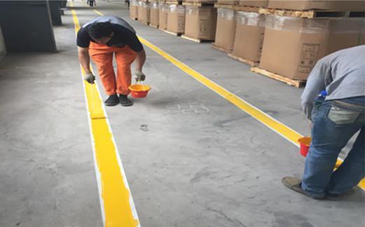 武汉环保道路划线公司