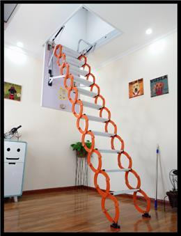 四川阁楼折叠伸缩梯(电动款) 全系列全规格