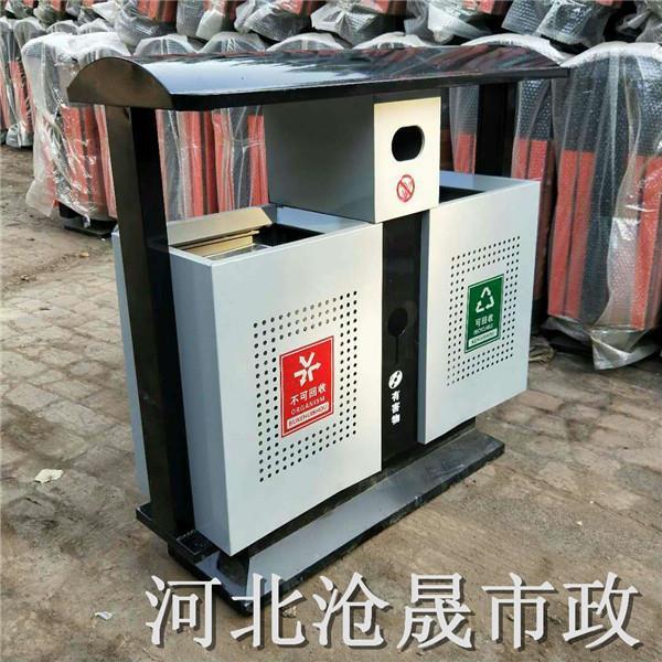 长治户外垃圾桶唐山钢木垃圾桶