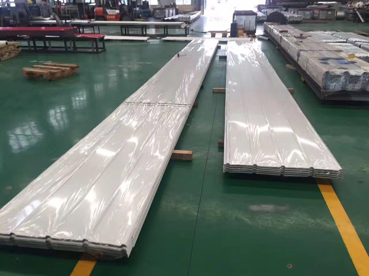 马钢氟碳彩钢板加工