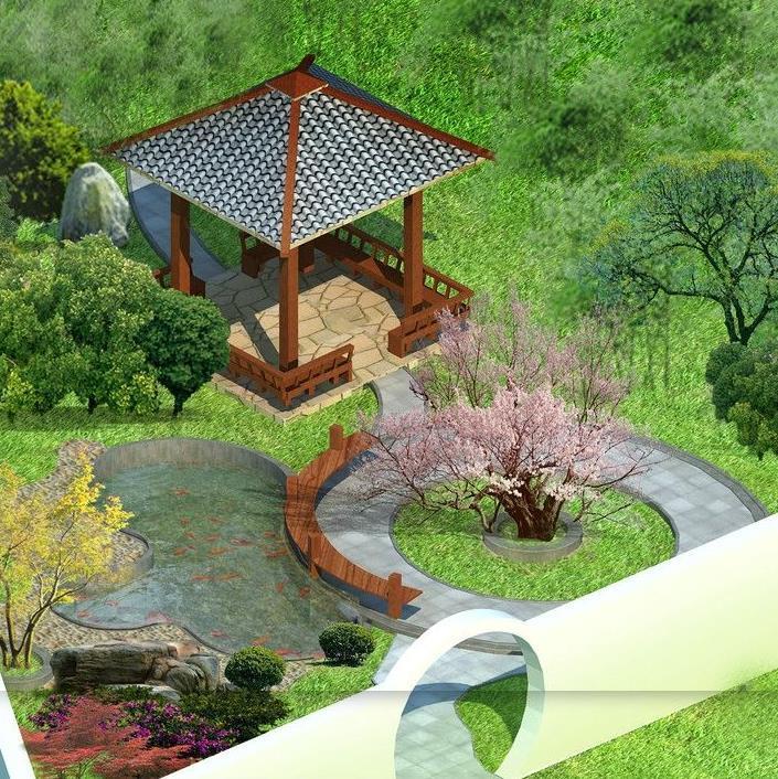 新城区专业生产风景园林设计报价