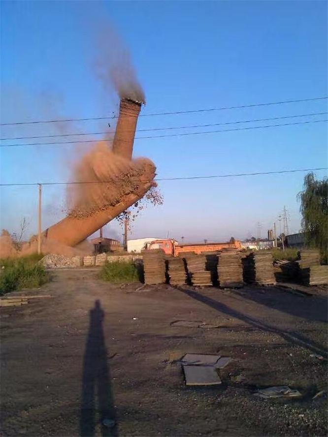 賀州煙囪拆除公司