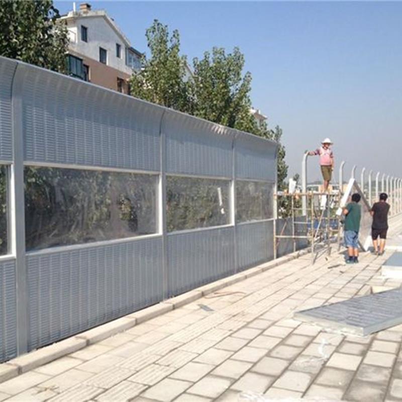 内蒙古高速公路声屏障厂屏障声房屋量大从优金属v屏障找哪家图片