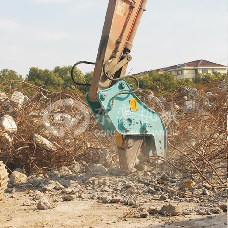 嘉兴挖掘机粉碎钳生产厂家图片