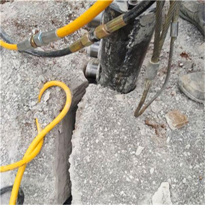 佳木斯静态岩石液压劈裂棒型号