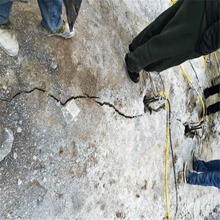 海南静态岩石液压劈裂棒型号