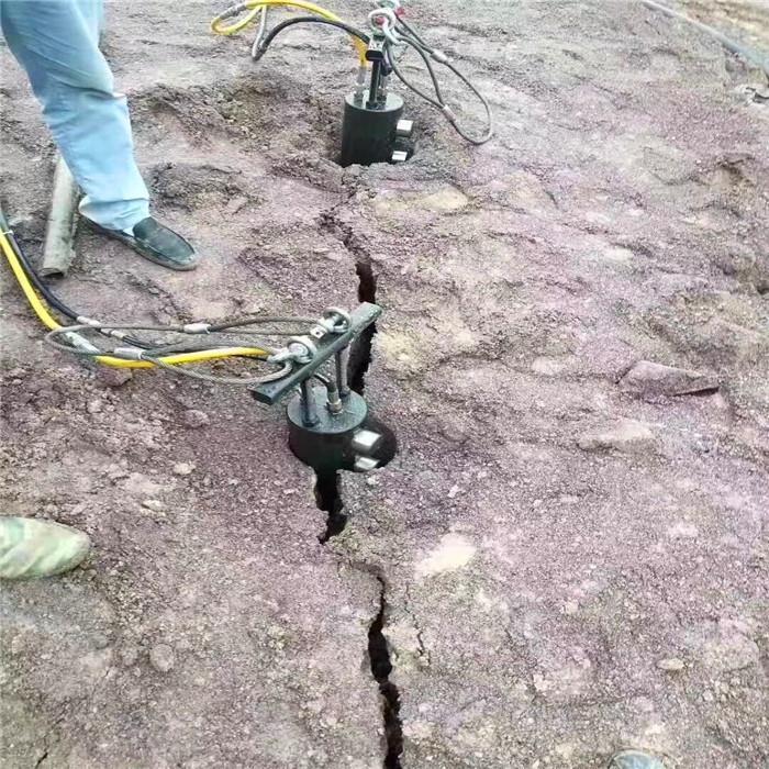 黄冈岩石分裂棒