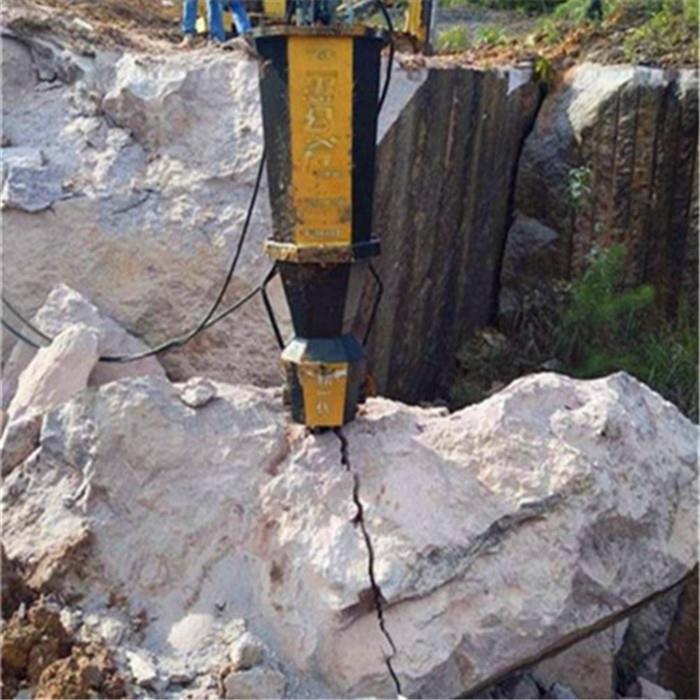 襄阳岩石分裂棒劈石机