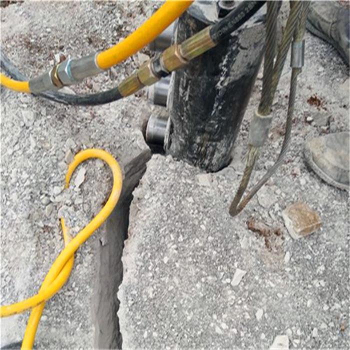 张掖岩石分裂棒破碎机