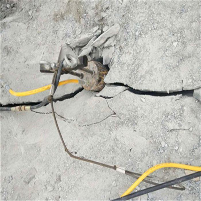 周口岩石分裂棒破碎机