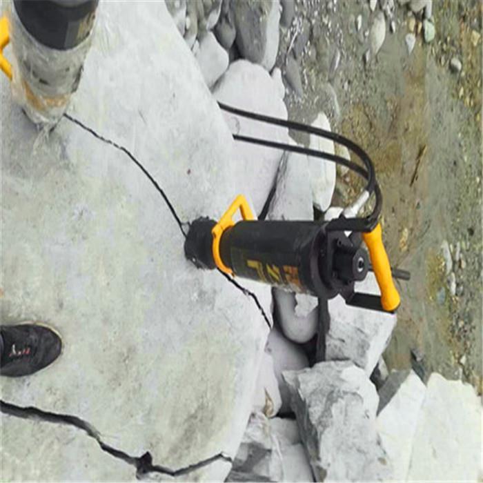 黑龙江岩石分裂棒劈裂器