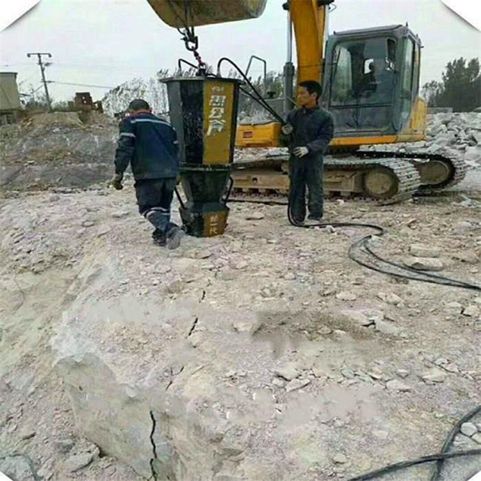 哈尔滨岩石分裂棒劈裂机