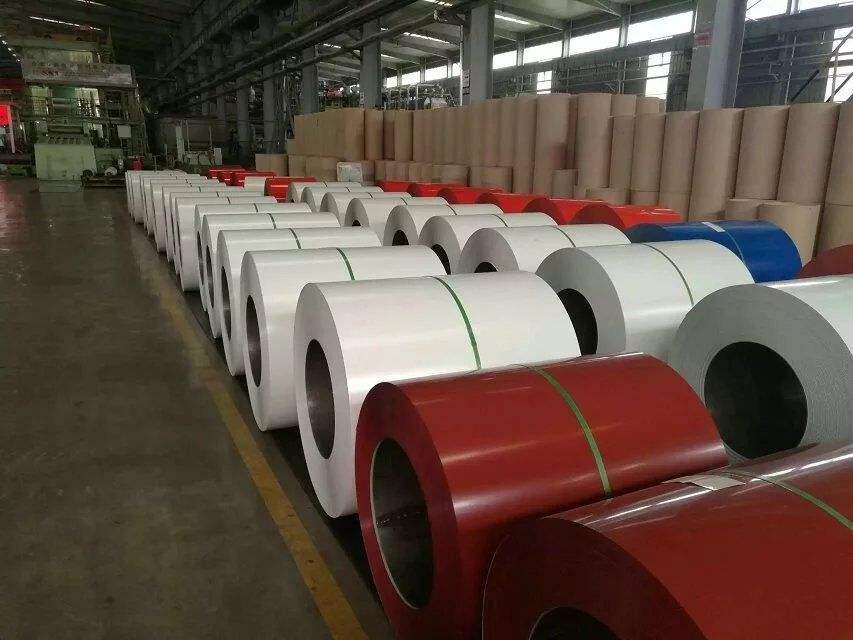 AZ165镀铝锌彩涂板上海经经销商