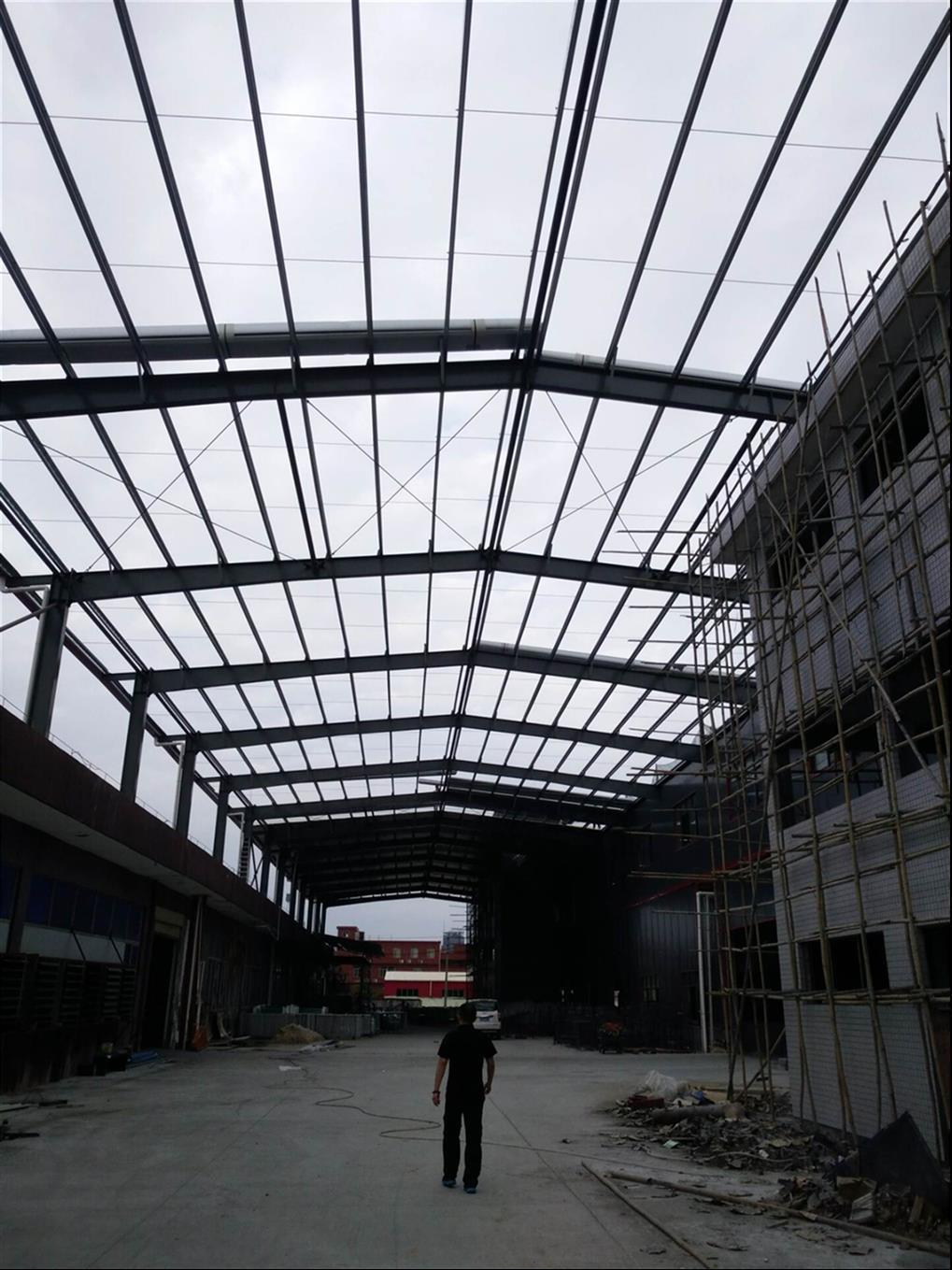 厚街钢结构铁棚工程公司