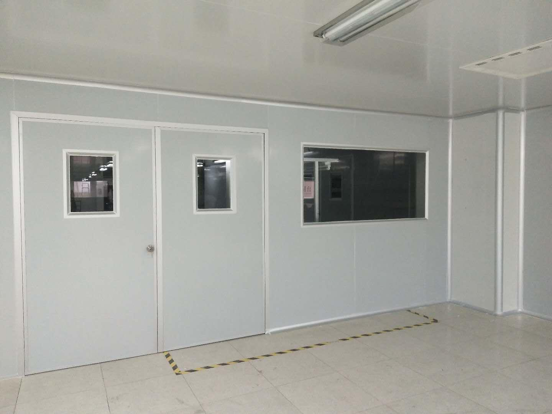 虎门彩钢板隔墙工程安装