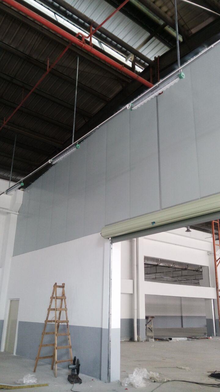 专业从事东莞彩钢板隔墙工程报价