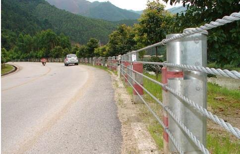 忻州钢丝绳护栏厂家