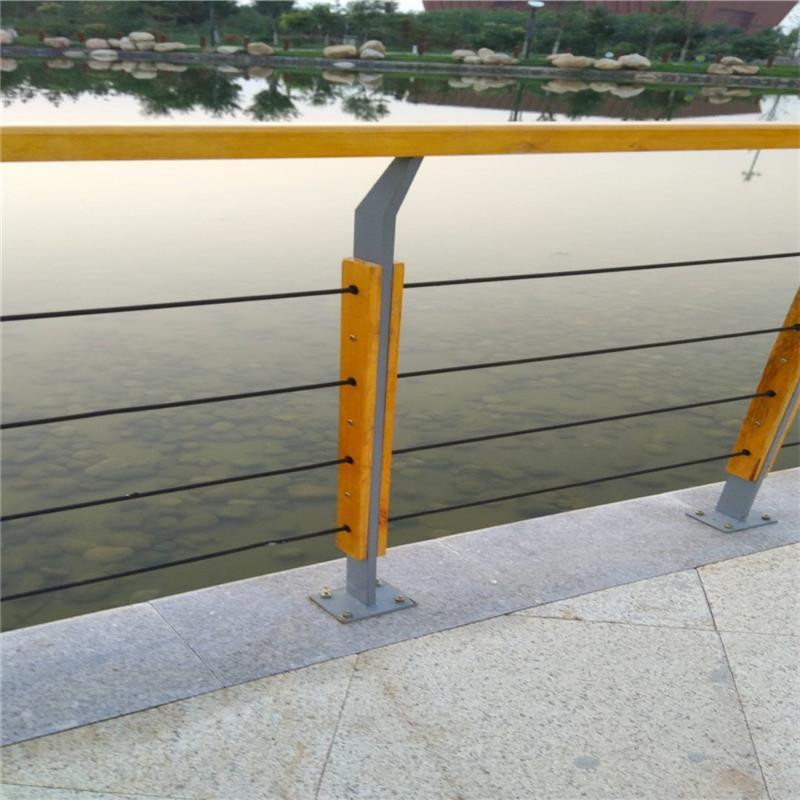 南昌钢丝绳护栏厂