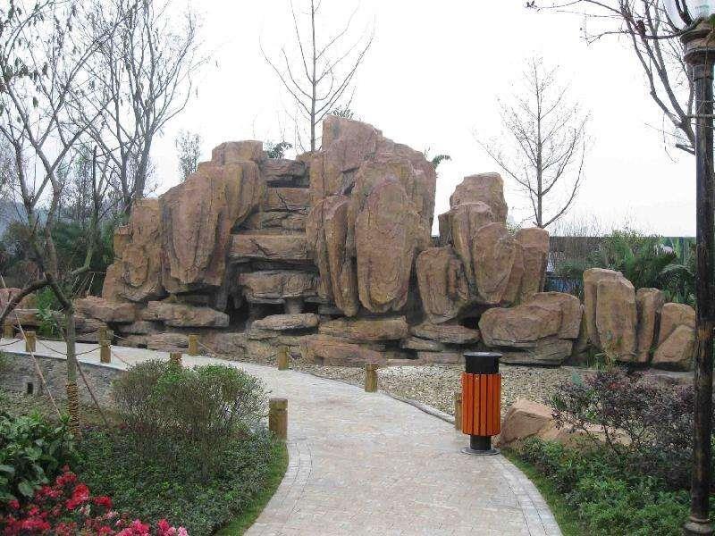 大型grc塑石假山制作价格