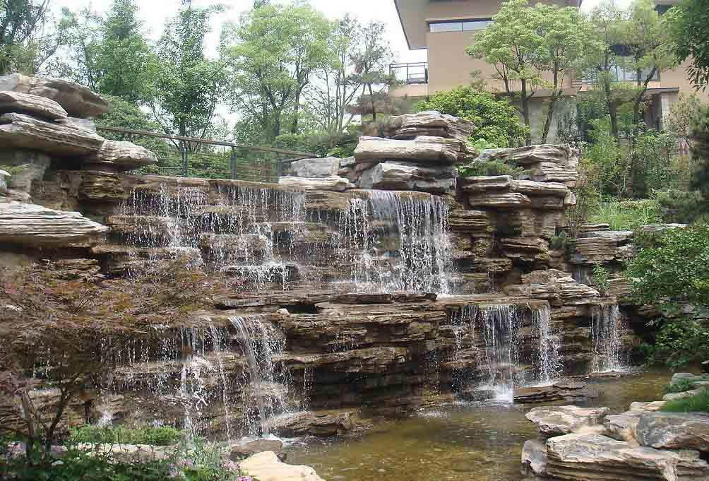 扬州grc塑石假山制作工程