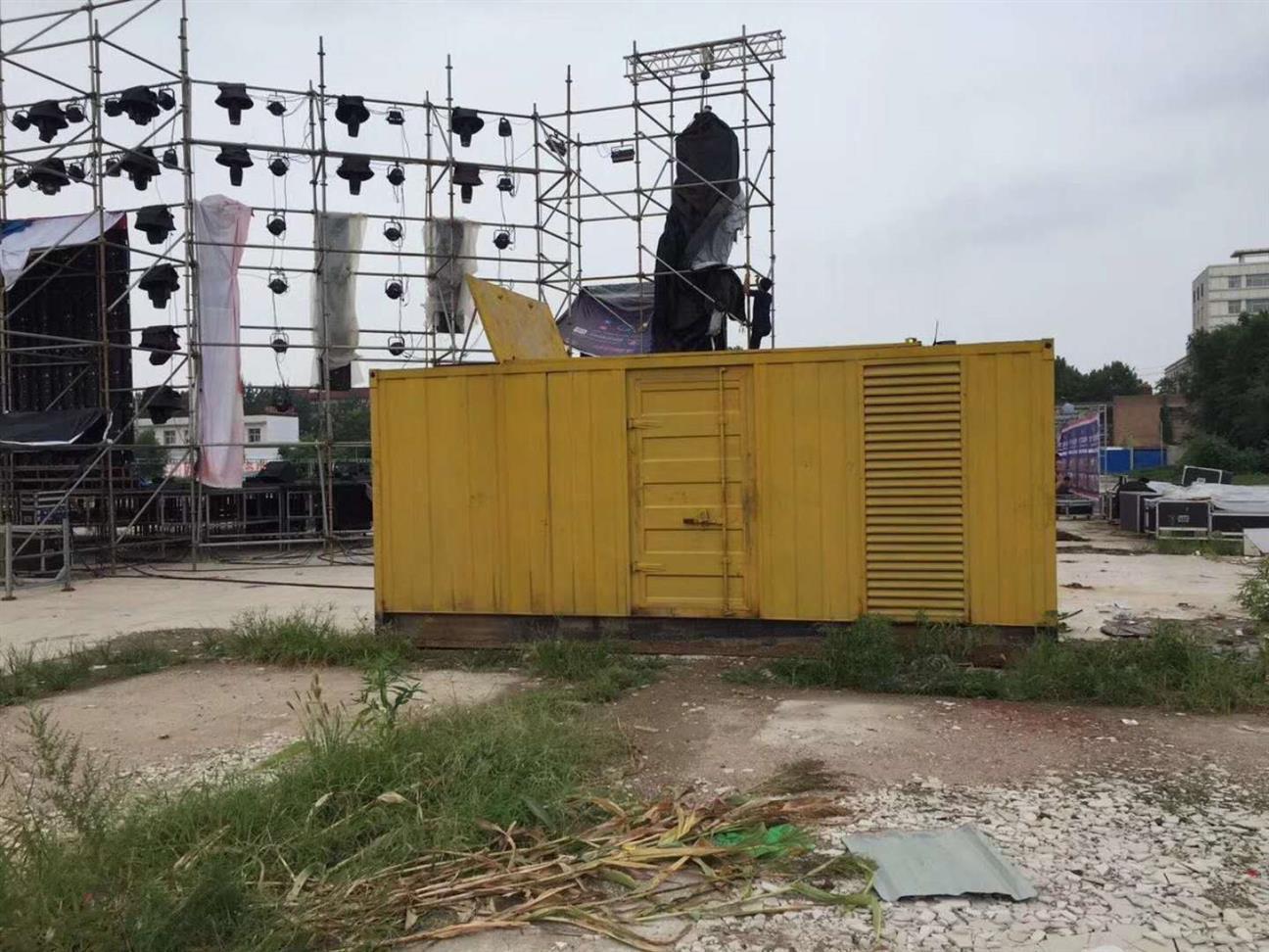 枣庄800千瓦静音发电机出租