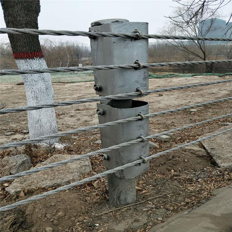 黑龙江景区缆索护栏生产厂家