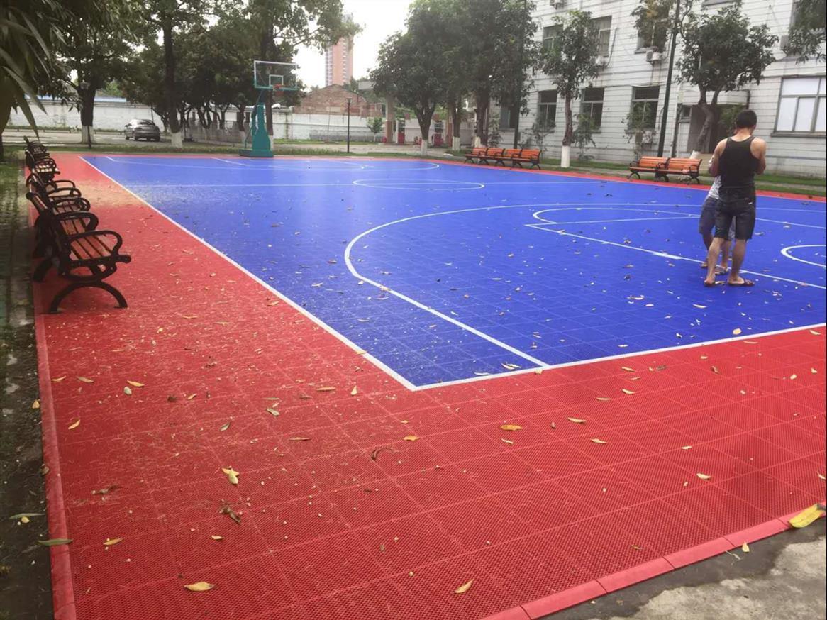 北海塑胶篮球场