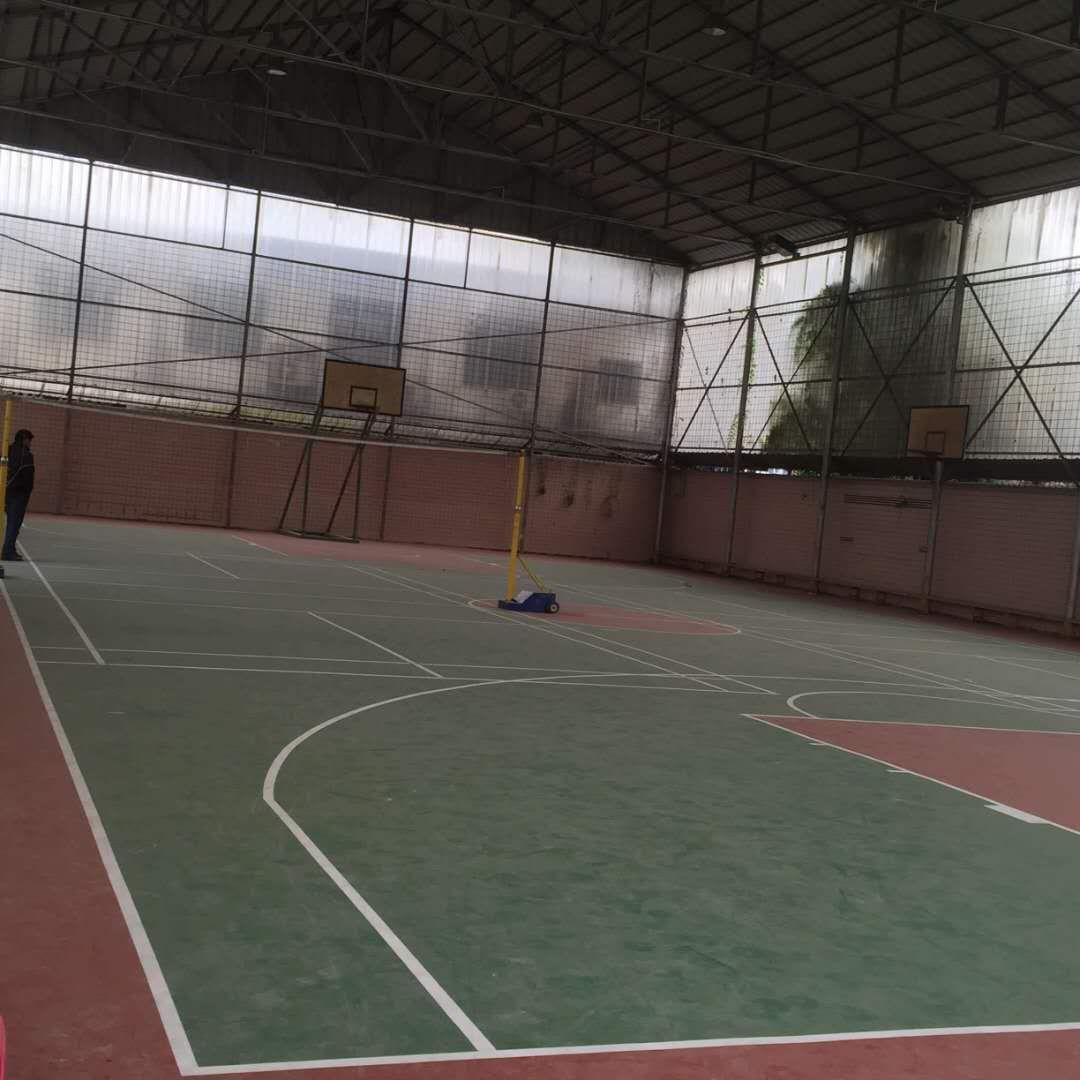 钦州环氧篮球场施工