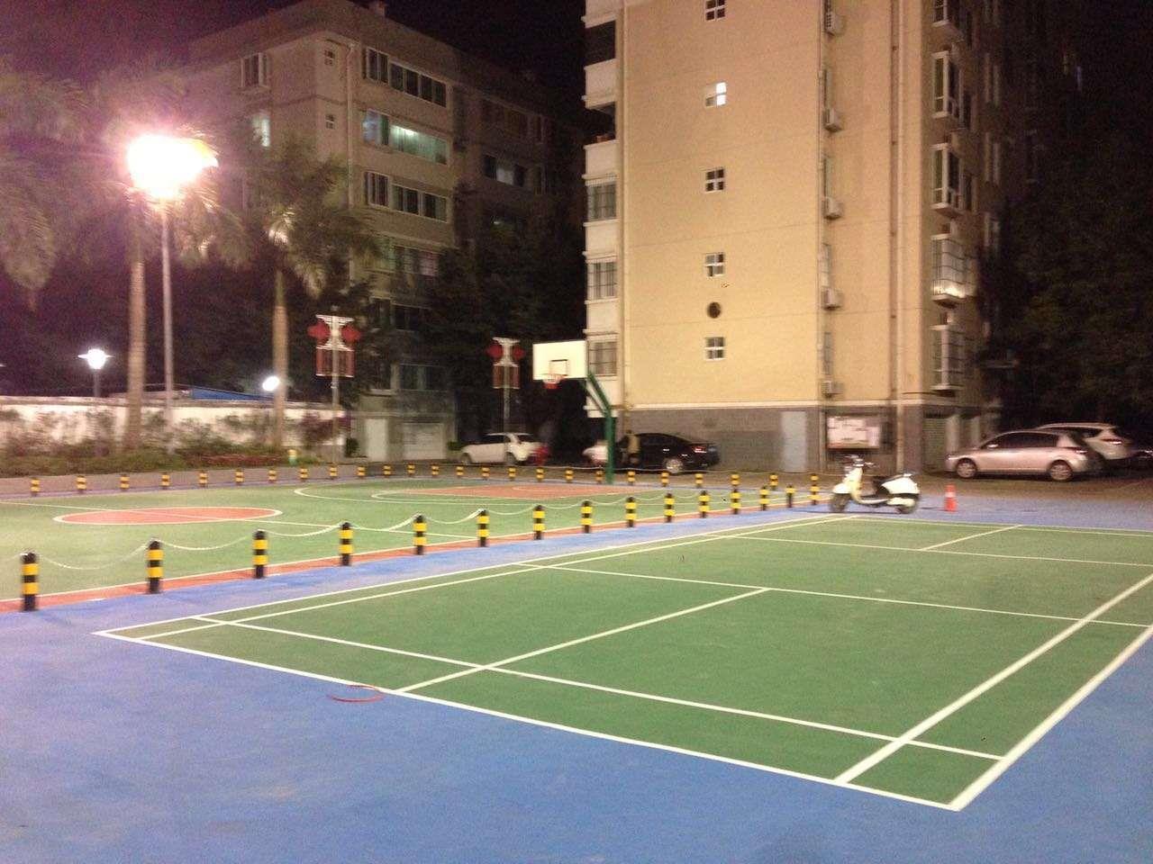 防城港室外篮球场施工