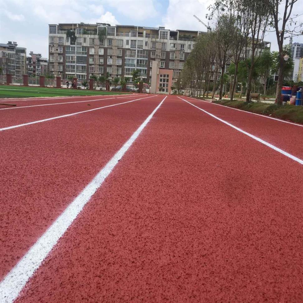 北海市银海区全塑型塑胶跑道跑道