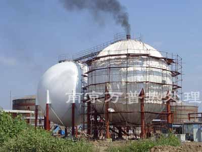 球罐焊缝热处理工程工程