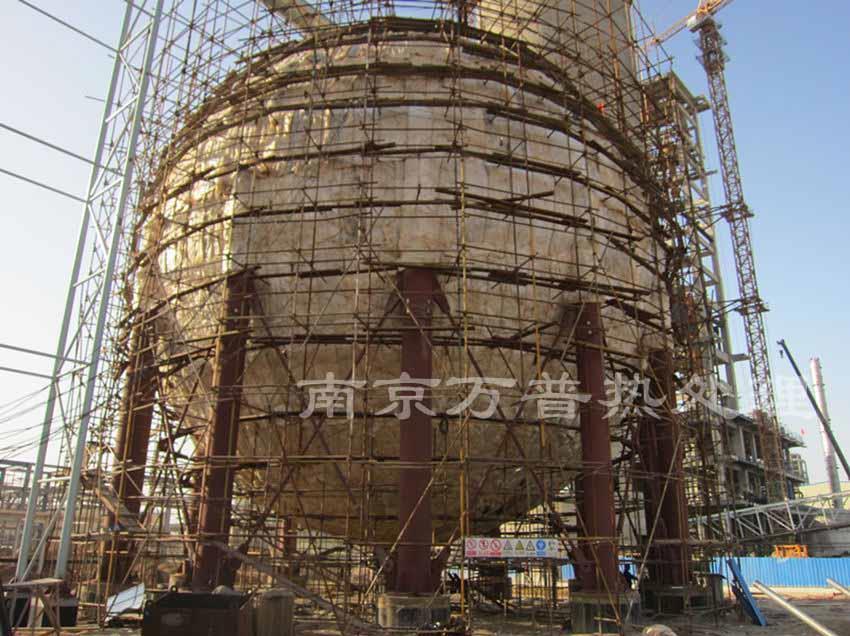 天津球罐热处理工程