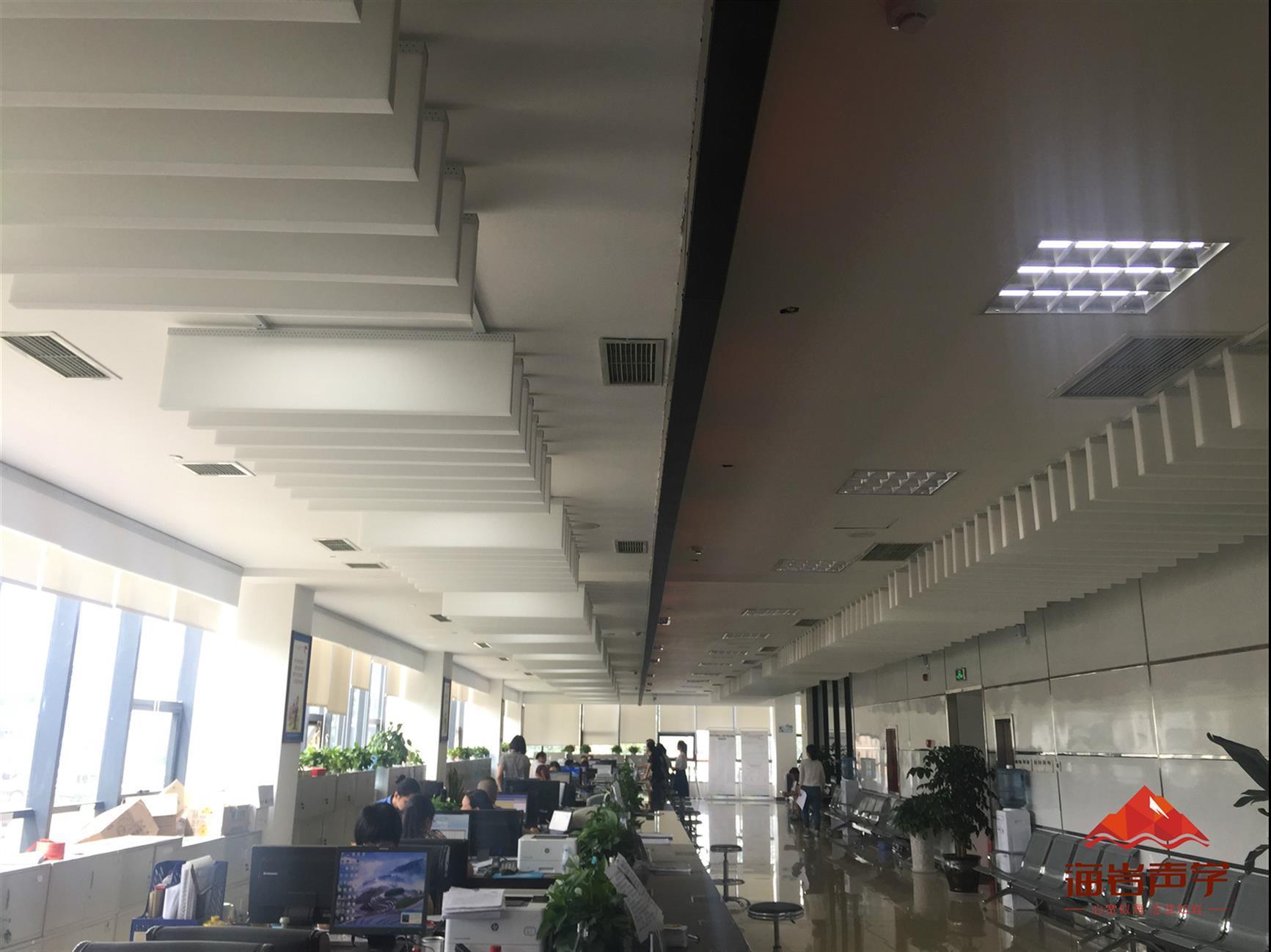 蓬安县空间吸声体安装