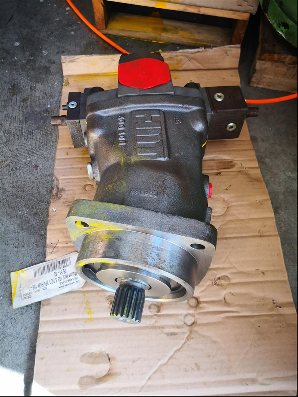 电控现货H2V108SF2斜轴变量液压泵定做