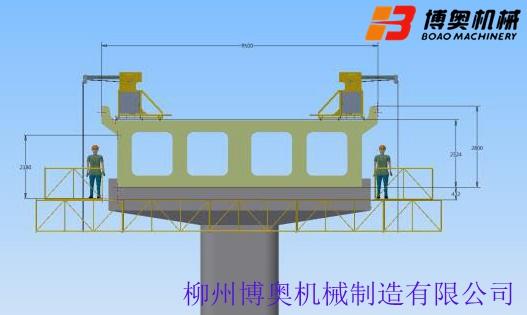 本地的桥梁施工平台型号