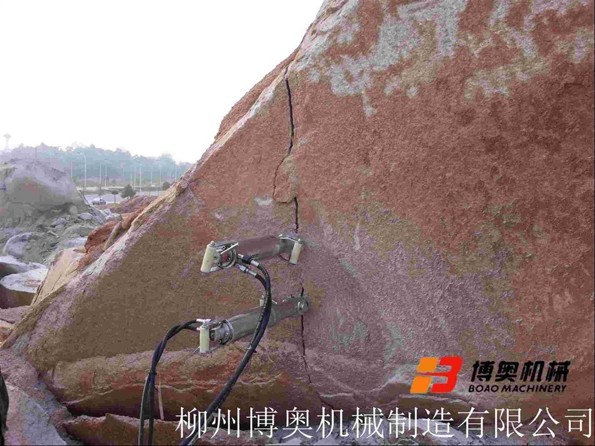 常州手动液压岩石劈裂机