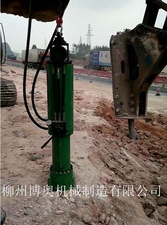 大庆液压岩石劈裂机厂家