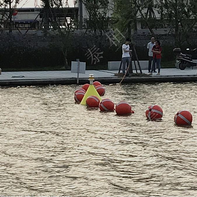 广东环保直径40公分塑料浮球出售