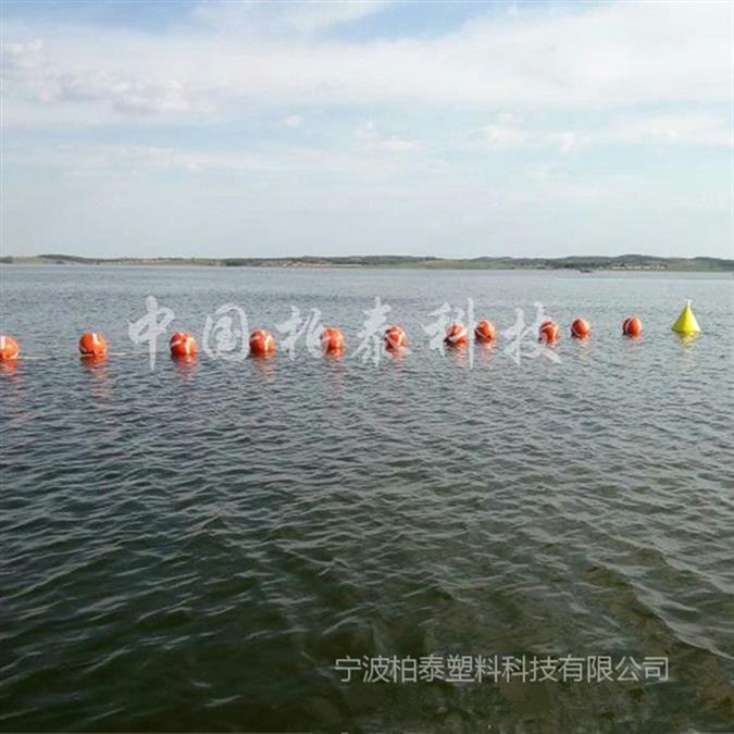 呼和浩特环保材质直径40公分塑料浮球厂家直销