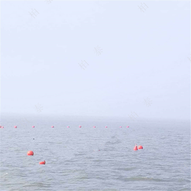 赣州环保材质直径40公分塑料浮球厂家直销