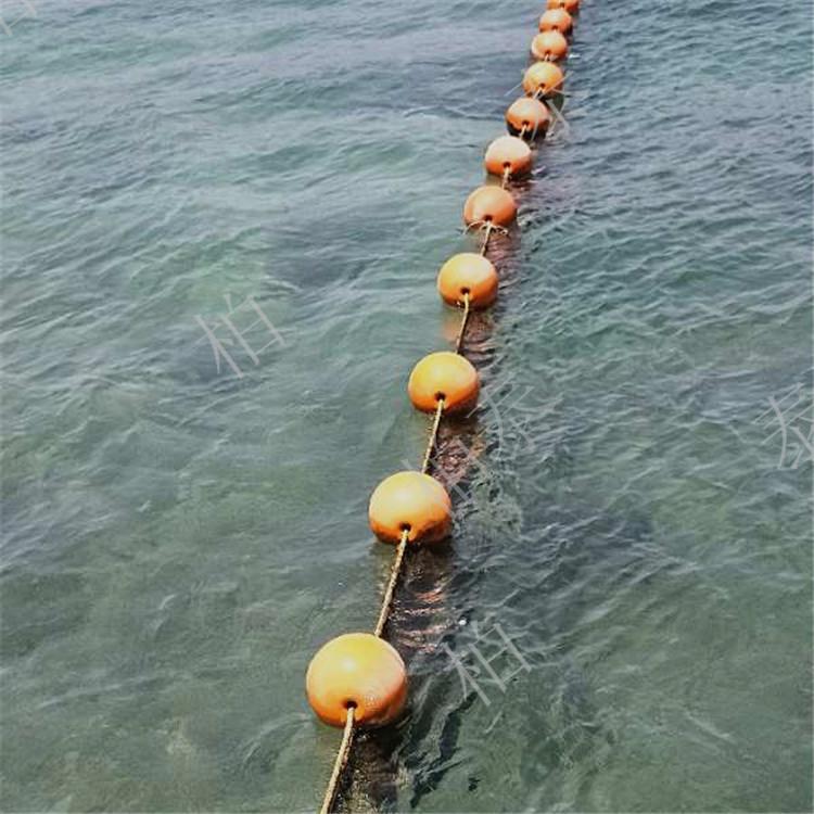 廊坊环保材质直径40公分塑料浮球厂家直销