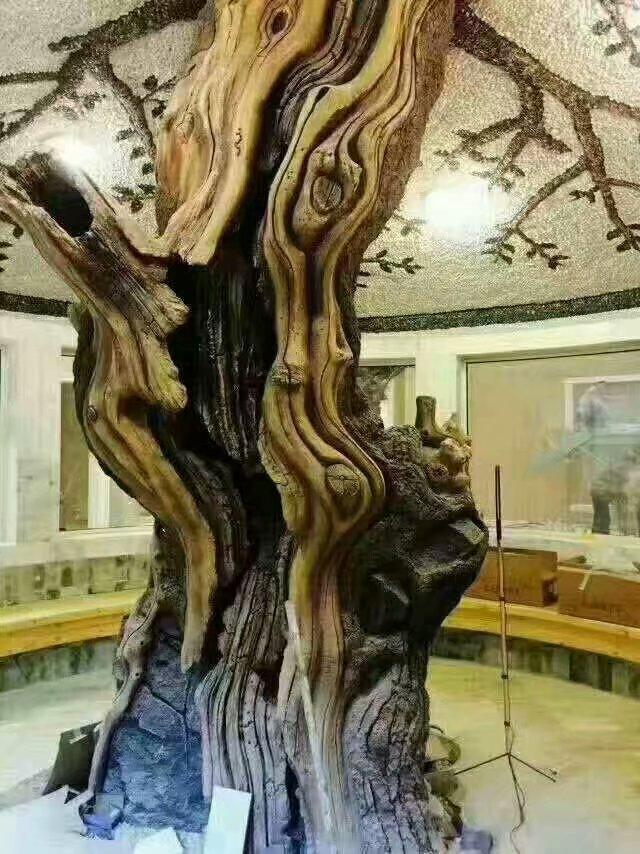 通化专业仿真树制作