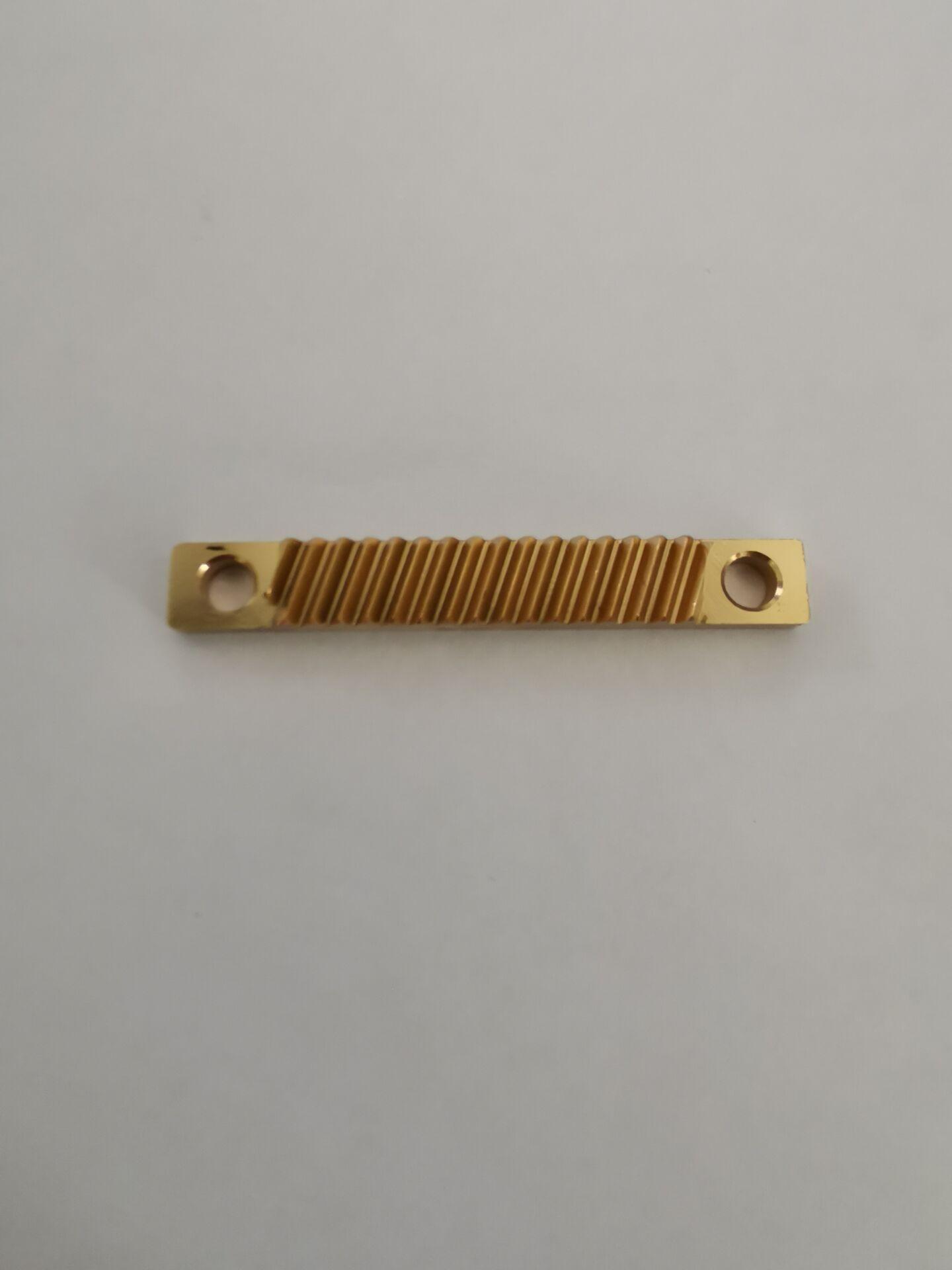 包头显微镜小模数黄铜滑台齿条生产厂家