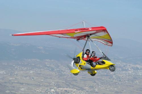 泉州动力三角翼商业飞行