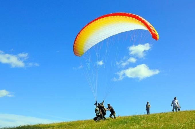 南通滑翔伞带飞
