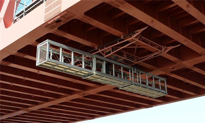 江西桁架桥检车施工方法