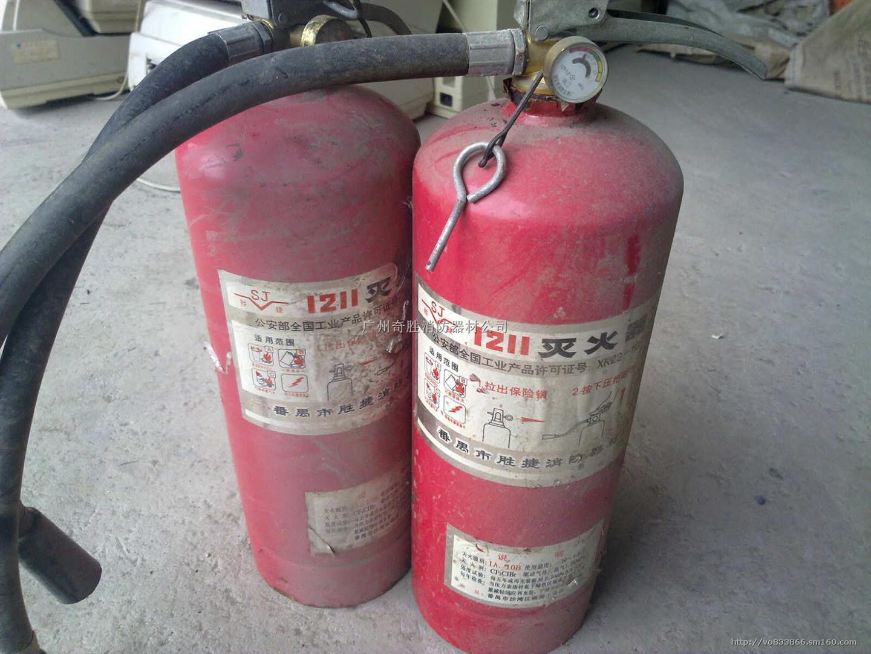 鞍山高价回收1211灭火器厂家