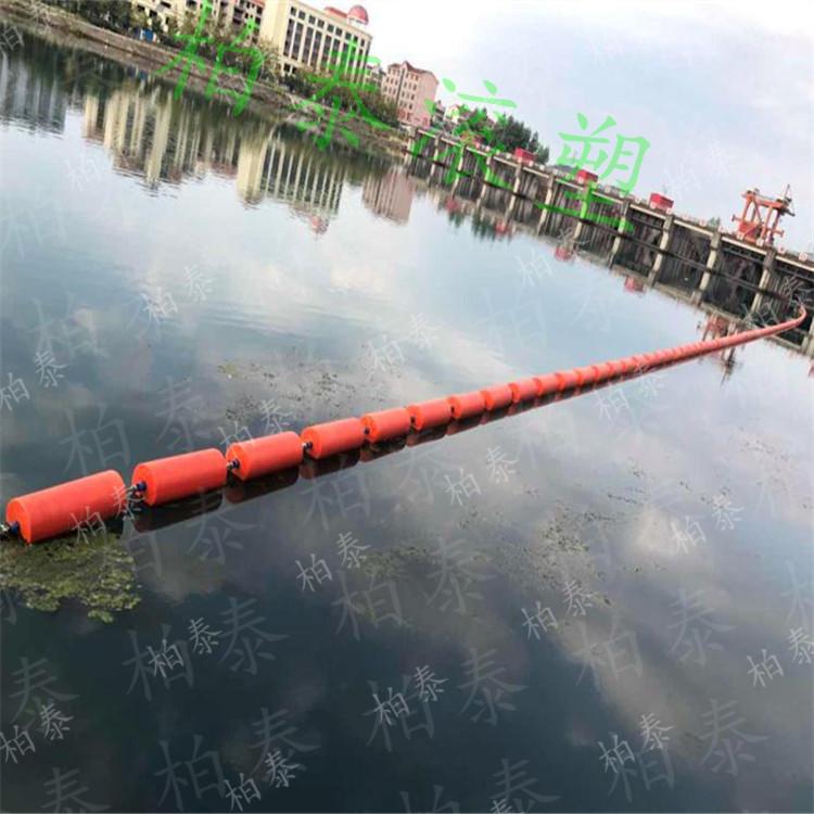 威海水电站拦污浮排