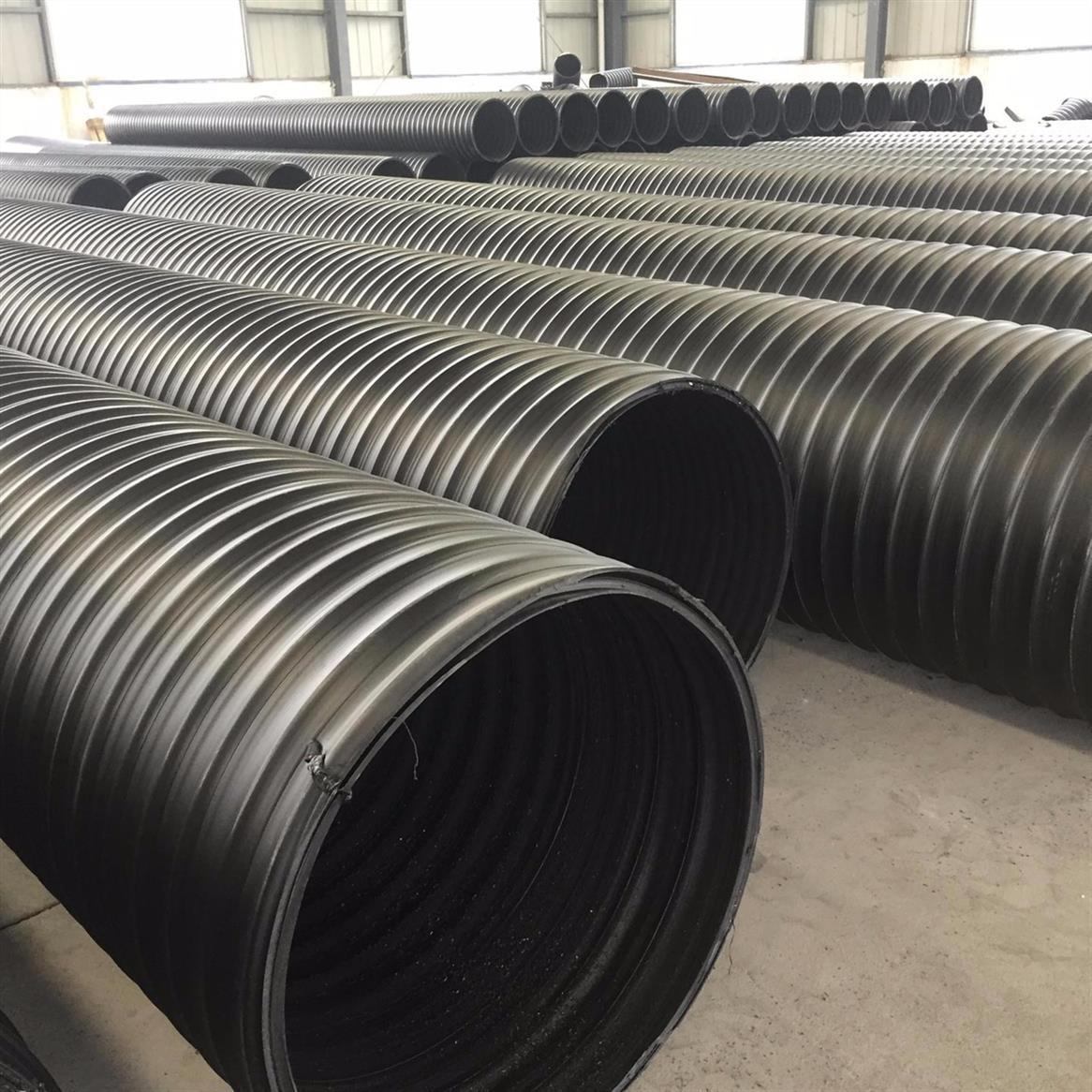福建高密度聚乙烯HDPE钢带管生产厂家