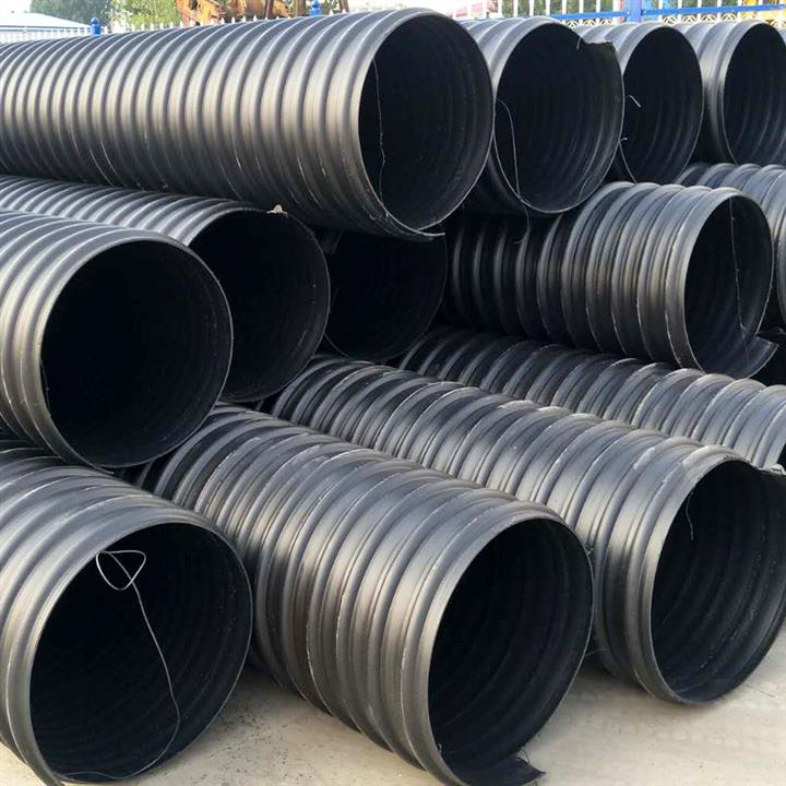 甘肃聚乙烯iHDPE钢带增强管生产厂家